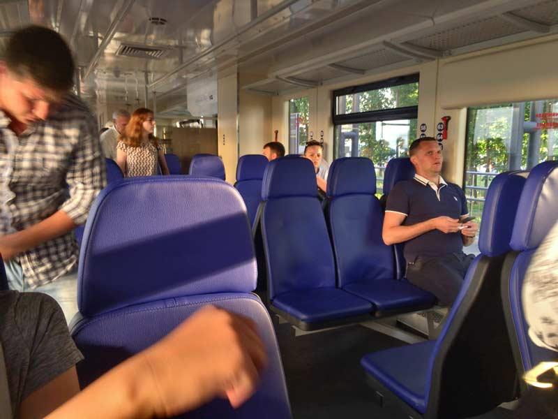 空港の電車