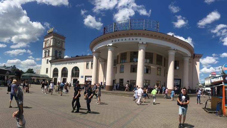 キエフの公共交通機関