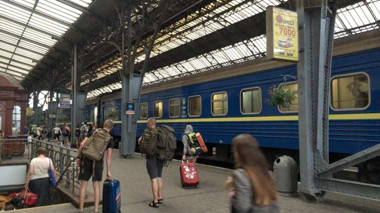 キエフからリヴィウへの行き方