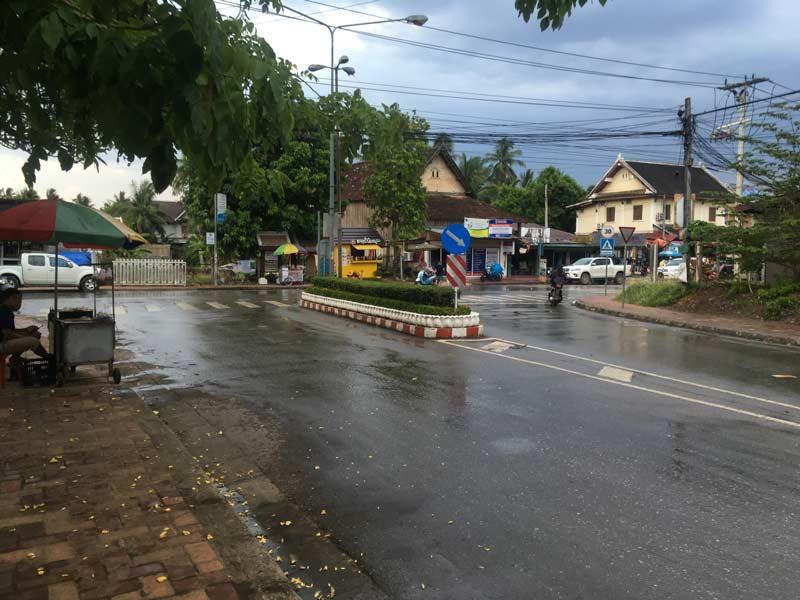 ルアンパバーンの街