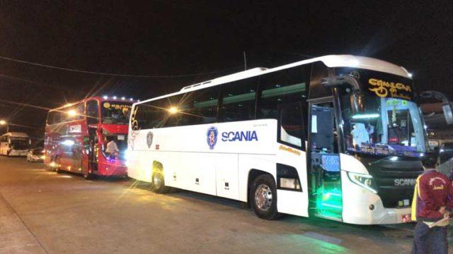 ミャンマー長距離バス
