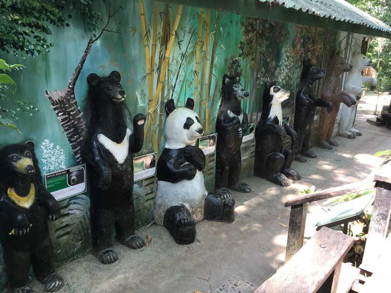 熊の保護施設