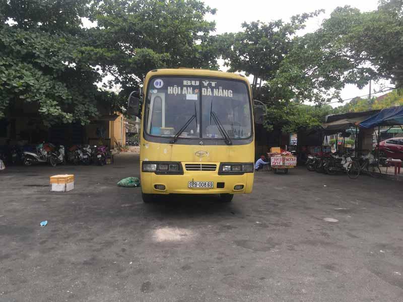 ダナン行きのバス