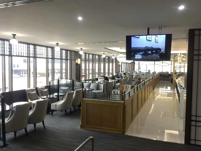 ドンムアン空港のコーラルラウンジ