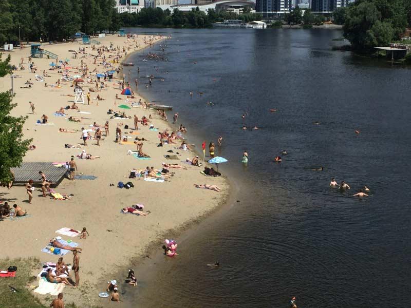 キエフのビーチ
