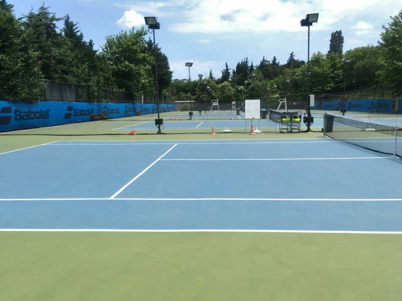 イスタンブールのテニスクラブ