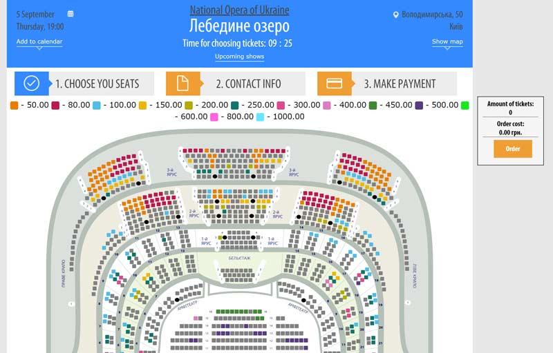 ウクライナ国立歌劇場HP