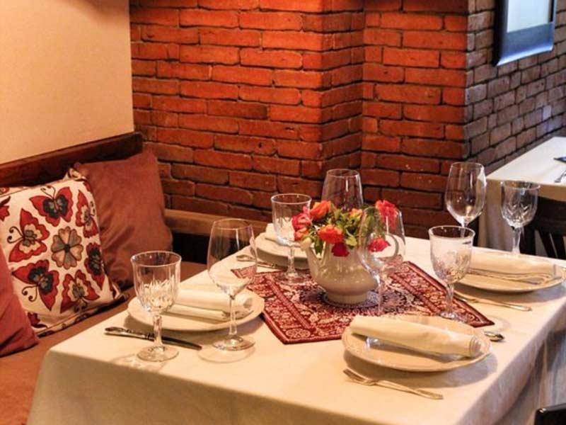 トビリシの有名レストラン