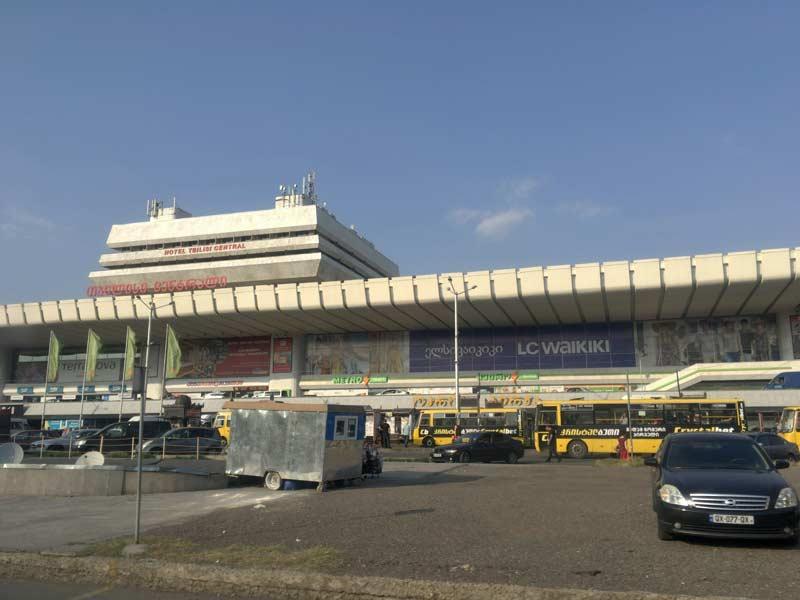 トビリシ空港バス