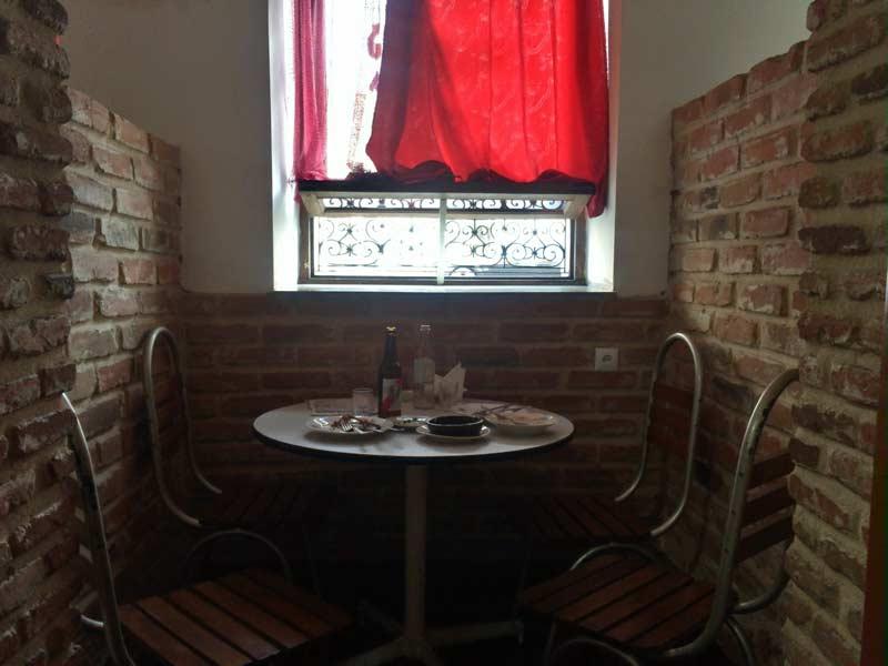 トビリシのレストラン