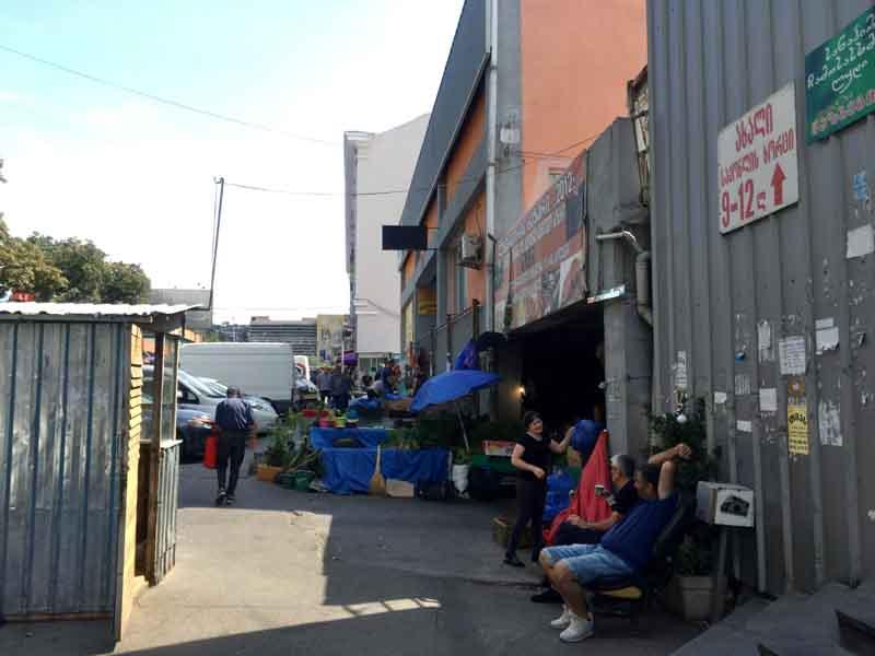 トビリシの中央市場