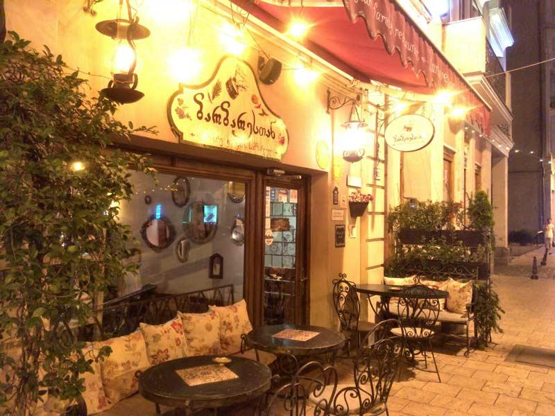 トビリシの高級レストラン
