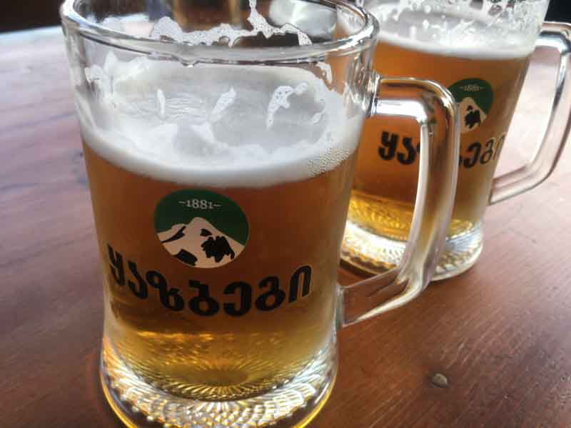 カズベキビール