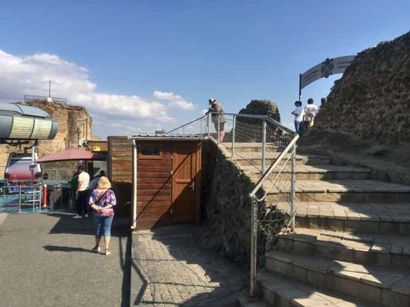 ナリカラ砦頂上