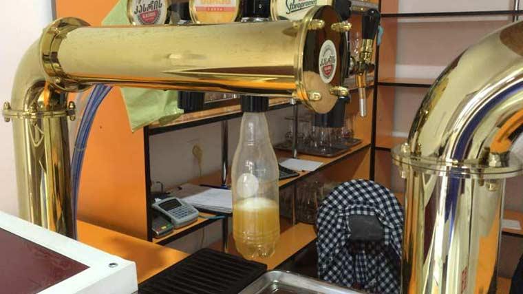 ジョージアのビール量り売り