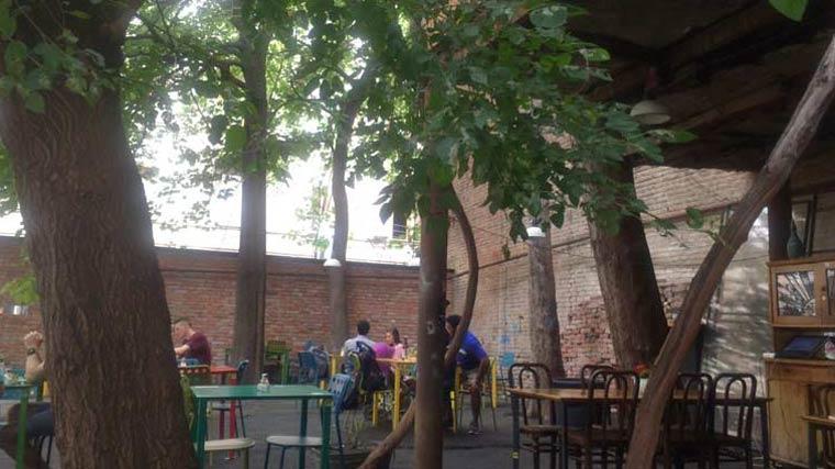 トビリシのEzoレストラン