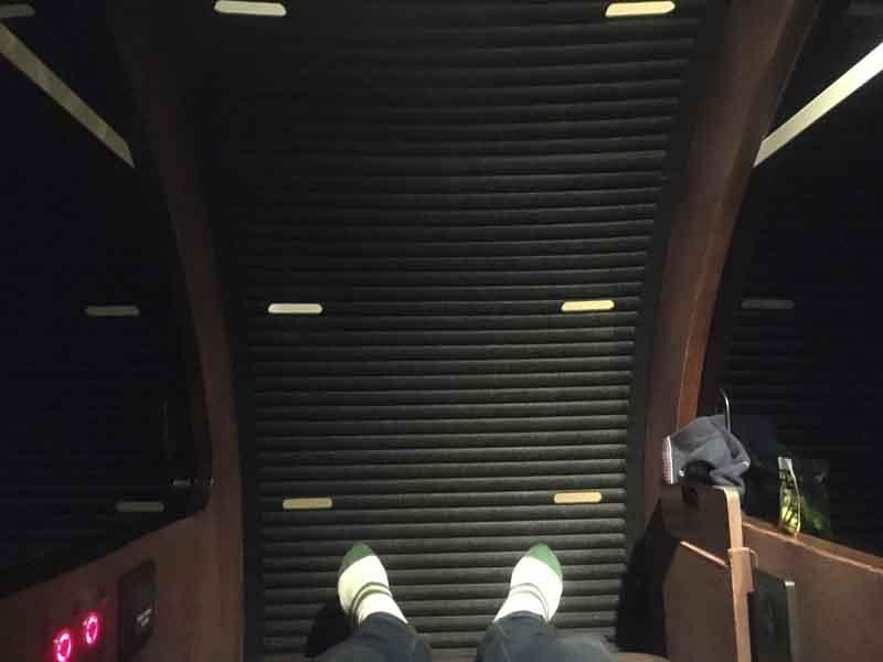 ドバイ空港の仮眠室