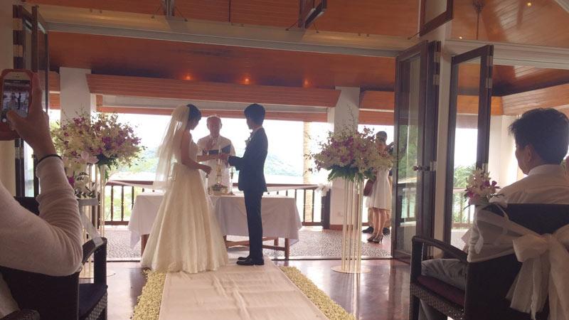 プーケット結婚式