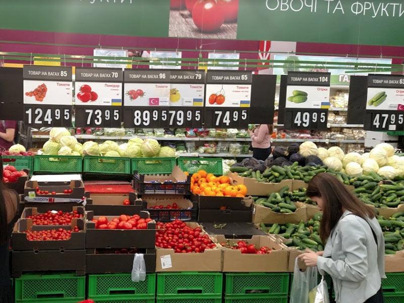 リヴィウのスーパー