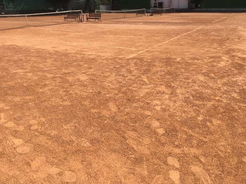キエフのテニスコート