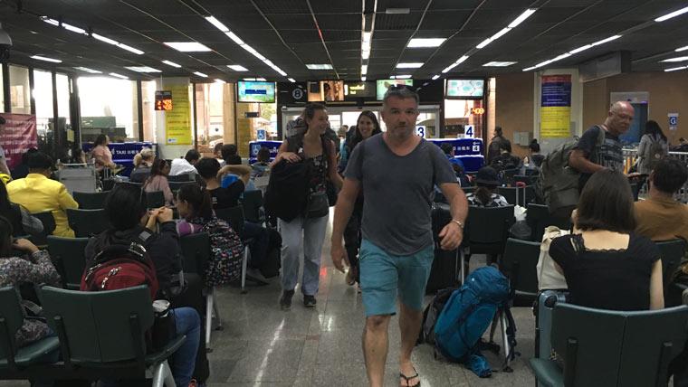 ドンムアン空港でタクシーの乗り方