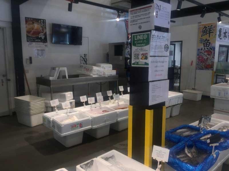 バンコクの日本生鮮卸売市場