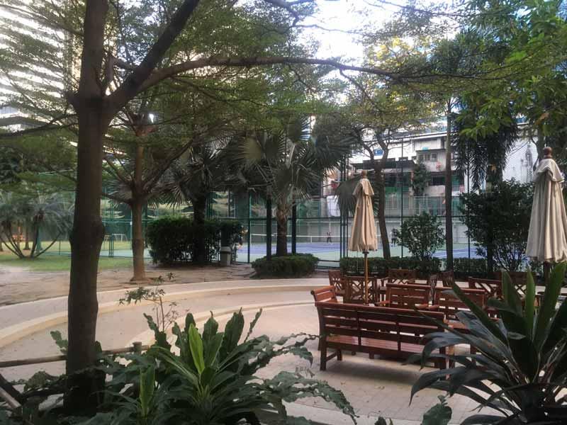 バンコクのテニスコート