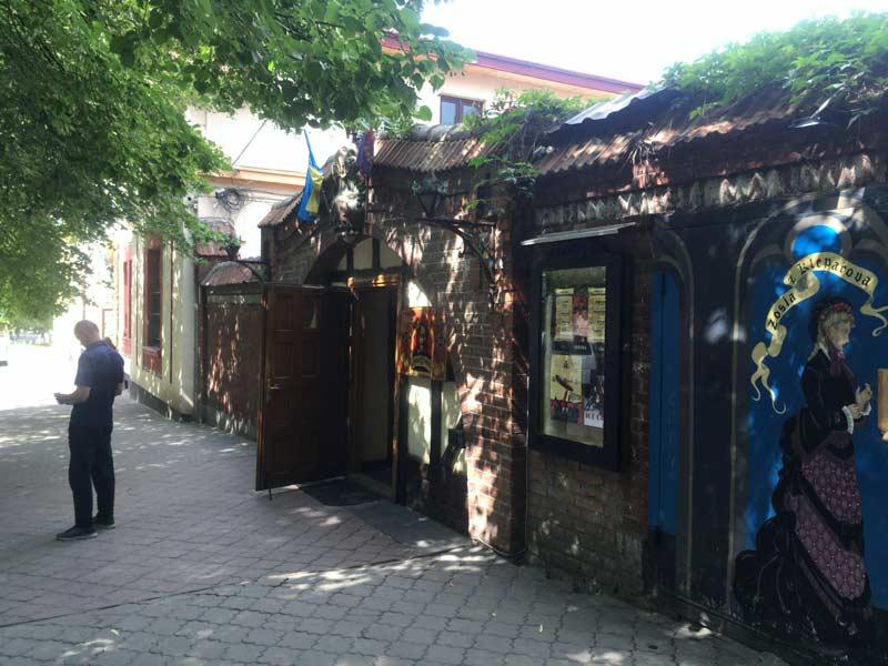 リヴィウの地ビールレストラン