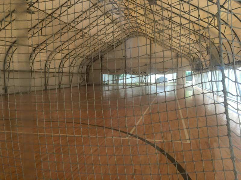 リヴィウのテニスコート