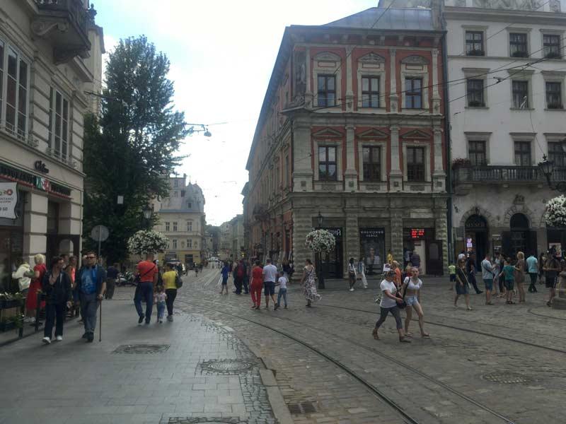 リヴィウ旧市街