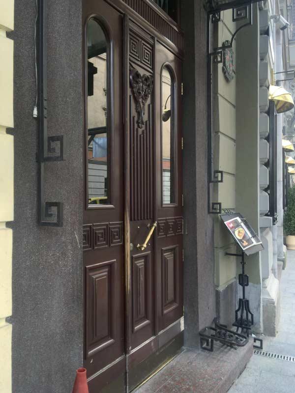 リヴィウのレストラン