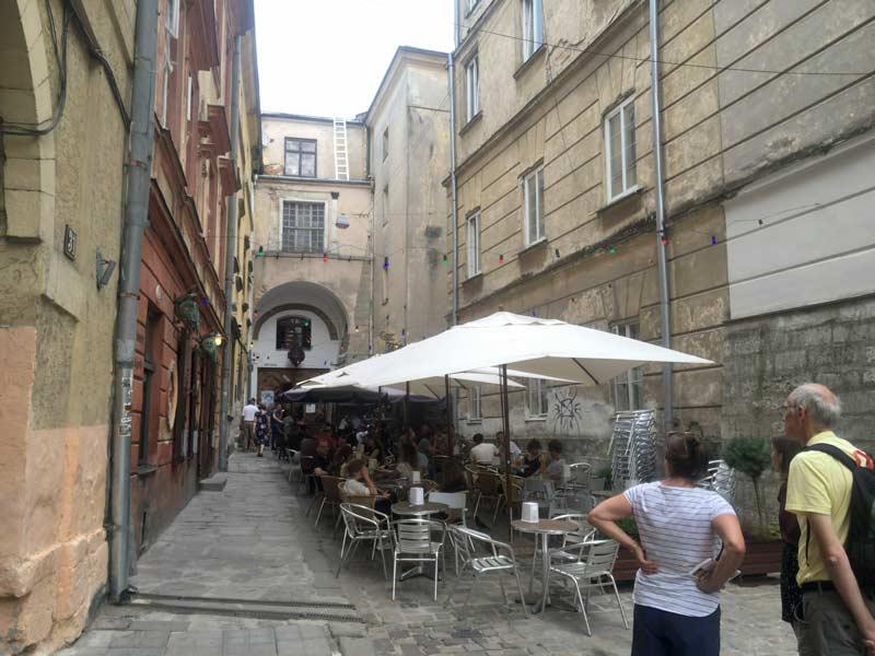 リヴィウの旧市街