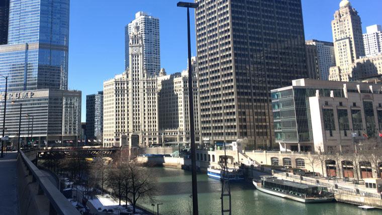 シカゴのテニスコート
