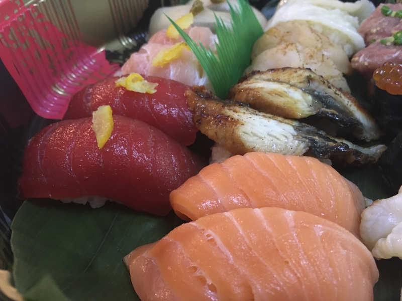 田中水産のお寿司