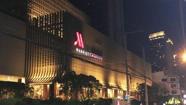 バンコクのマリオットホテル