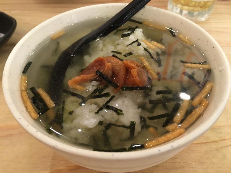バンコクの恵比寿商店料理