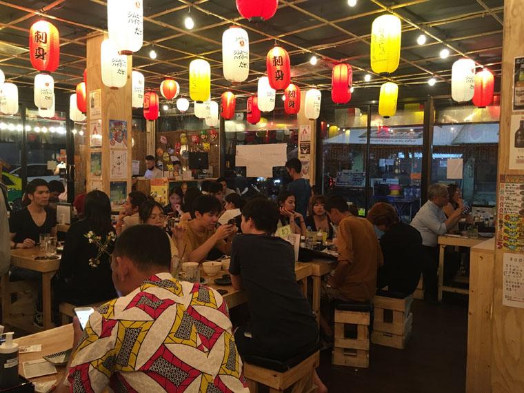 バンコクの恵比寿商店