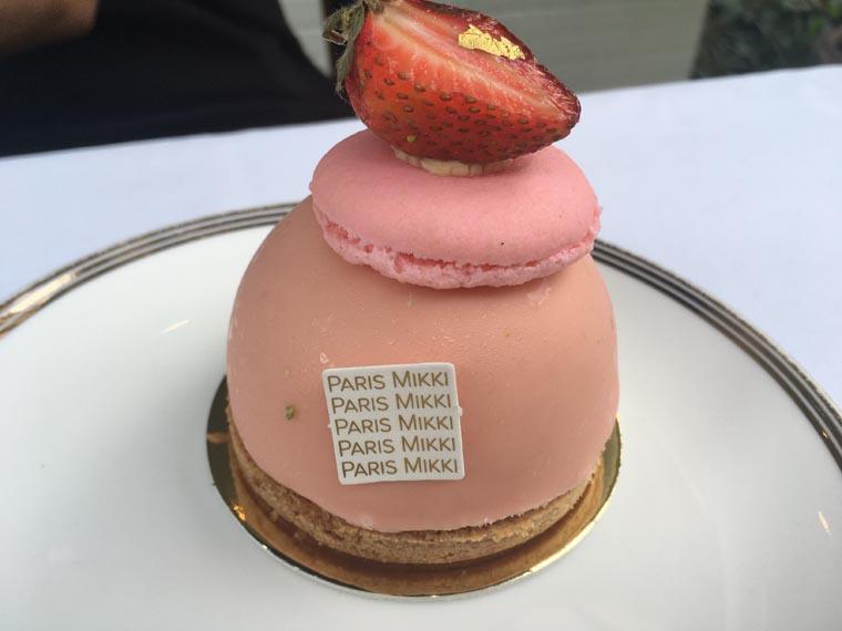 バンコクのケーキ屋さんParis Mikki
