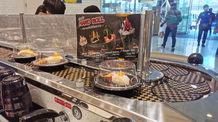 バンコクの寿司エクスプレス