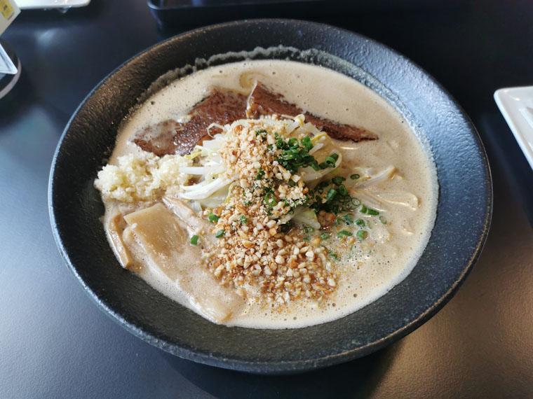 バンコク麺庄の和牛味噌ラーメン