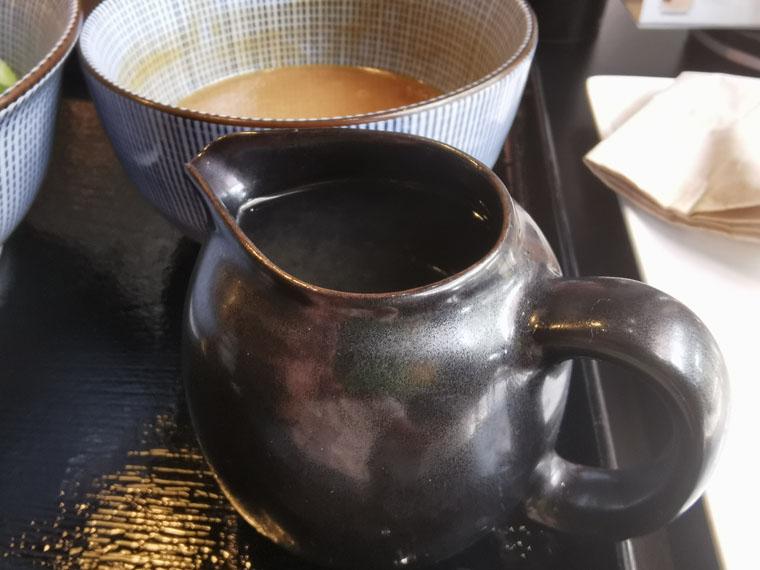 バンコク麺庄のつけ麺