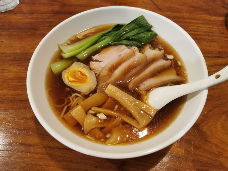 江戸キッチンのチャーシュー麺